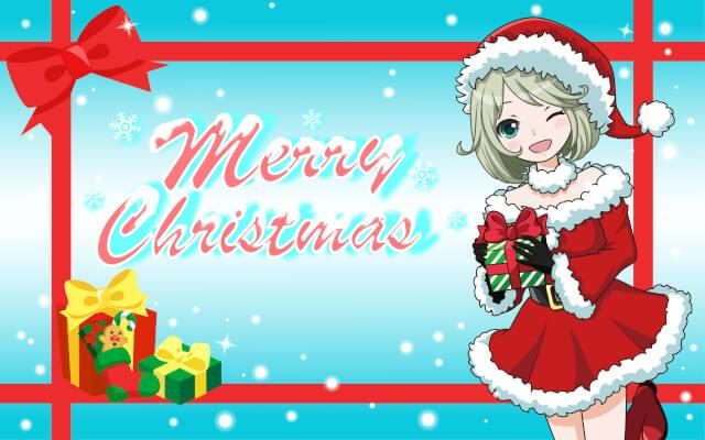 【イラストAC】クリスマス素材の紹介